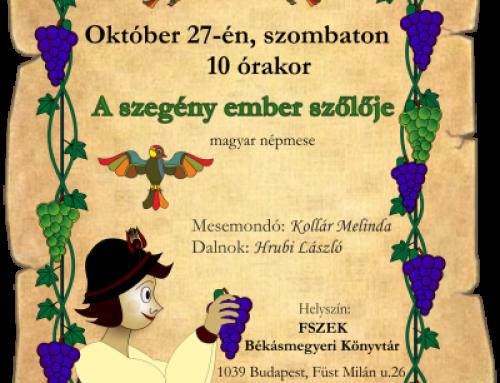 Októberi meseklub